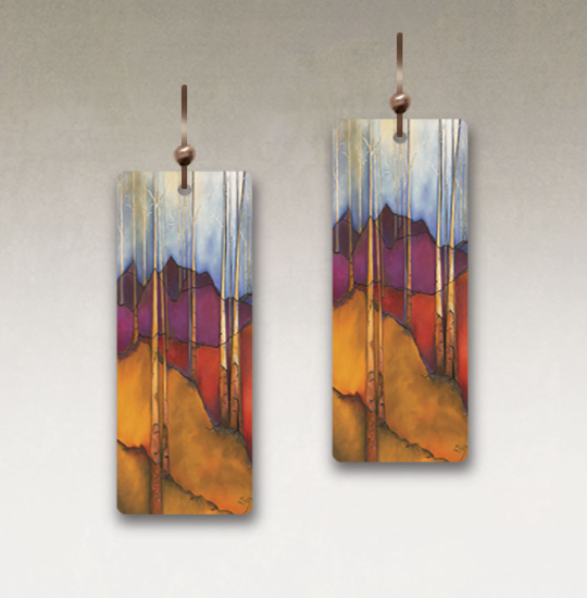 DC Designs - SH01CE Rectangle Earrings
