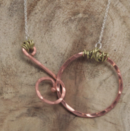 Colorado Copper - Encourage Necklace