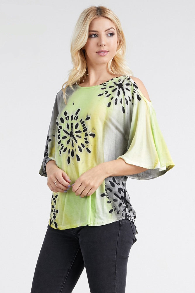 Cold Shoulder Top - On Sale