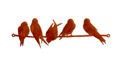Wall Art - Birds on a Wire