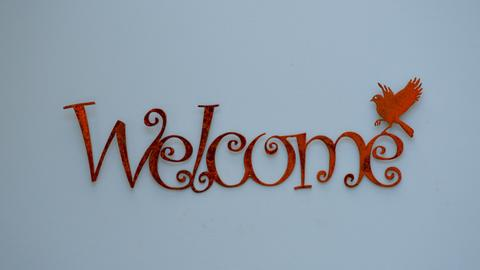 Word Wall Art - Welcome