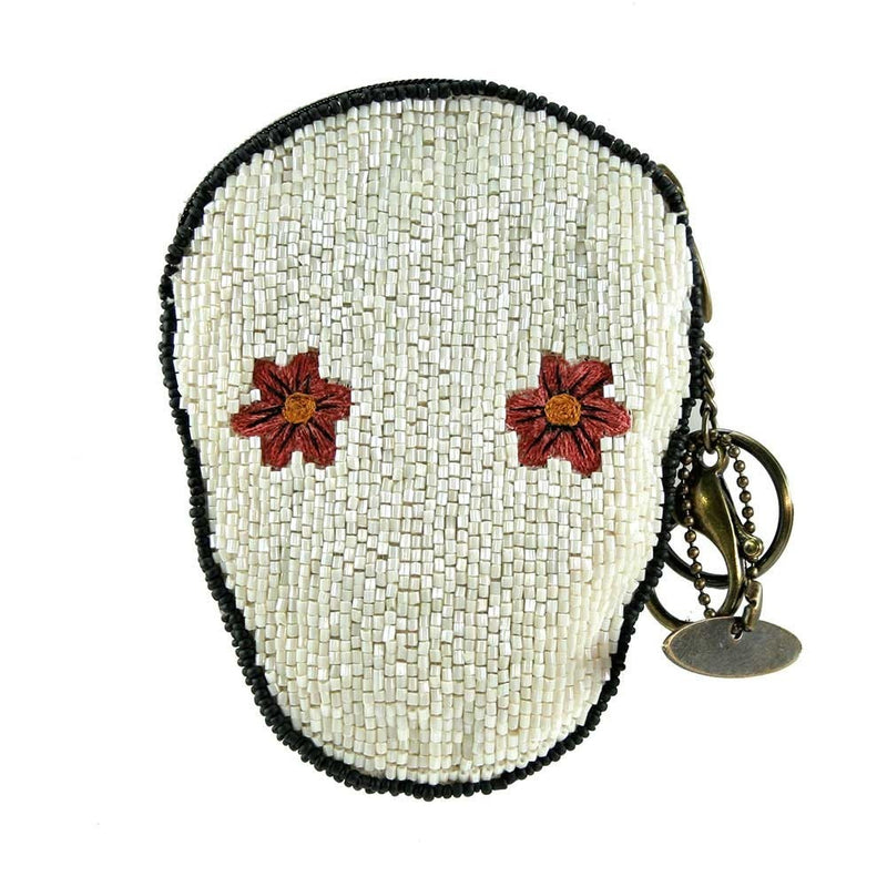 Mary Frances Bone to Pick Beaded Coin Purse