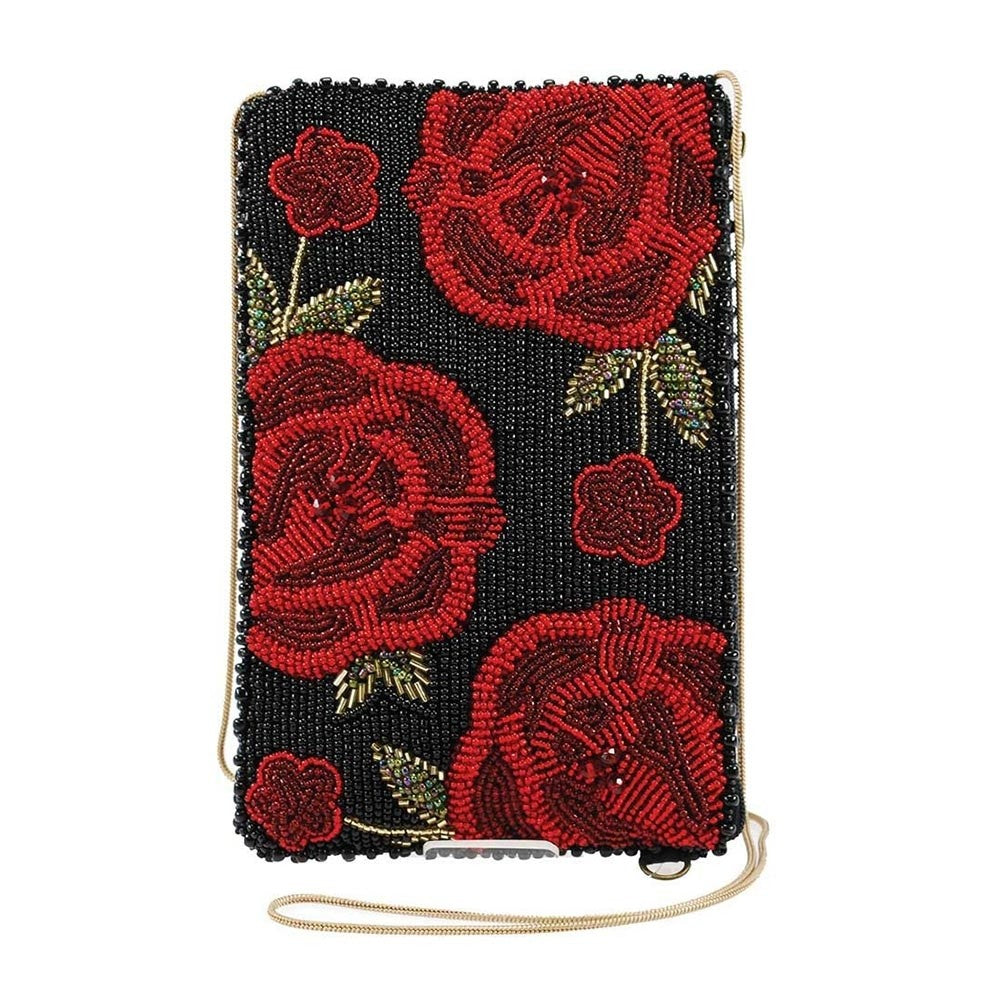 Mary Frances Rose Cell Phone Purse