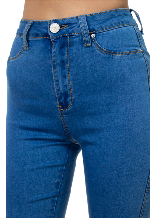 Denim Blvd High Rise Jeans