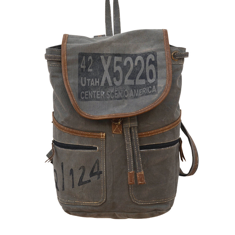 Clea Ray - Gray Utah Backpack