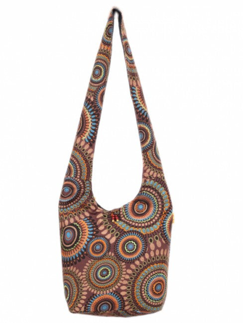 Himalaya Handmade Geometric Print Cotton Bag