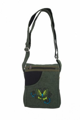 Himalaya Handmade Butterfly Passport Bag