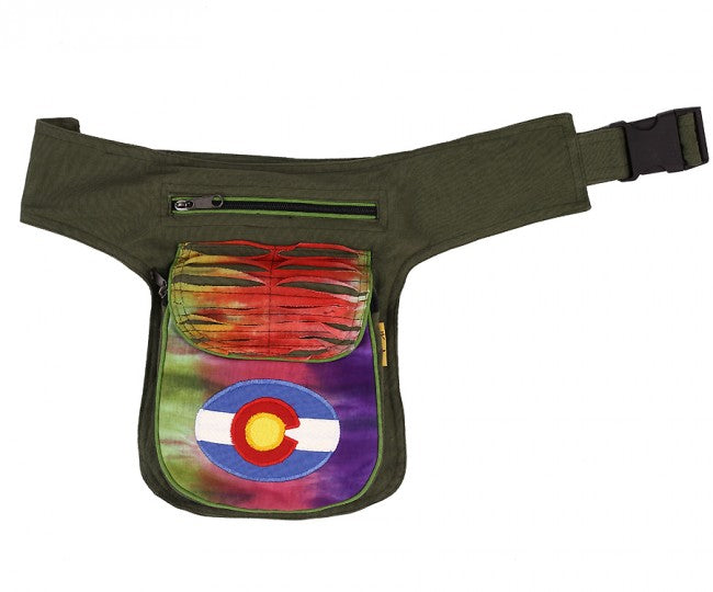 Himalaya Handmade Tie Dye Colorado Hip Packs