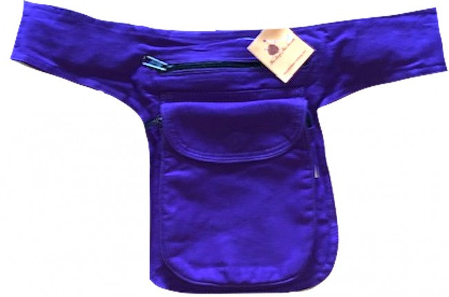 Himalaya Handmade Solid Color Cotton Hip Pack
