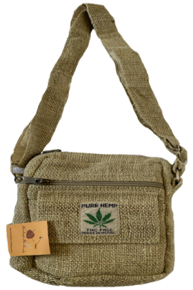 Himalaya Handmade Pure Hemp Passport Bag
