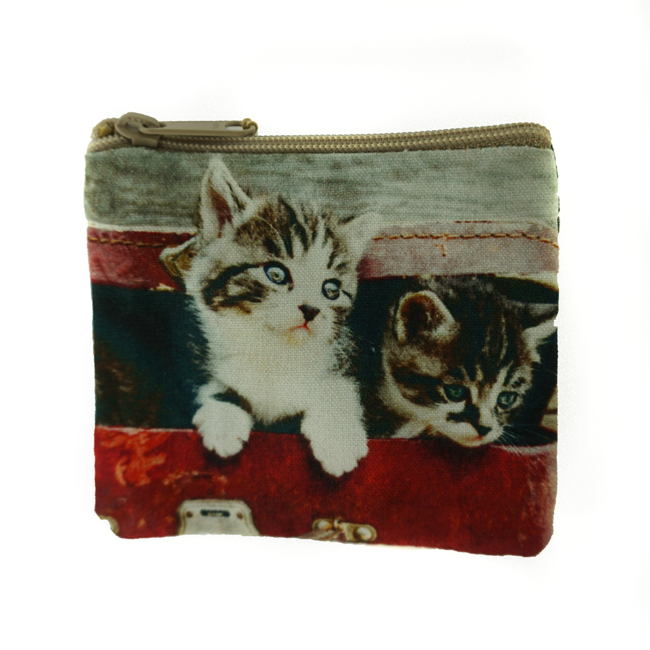Kittens Coin Purse