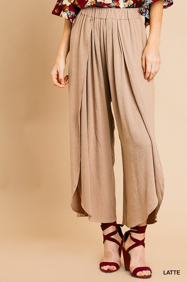 Flowy Slit Pants