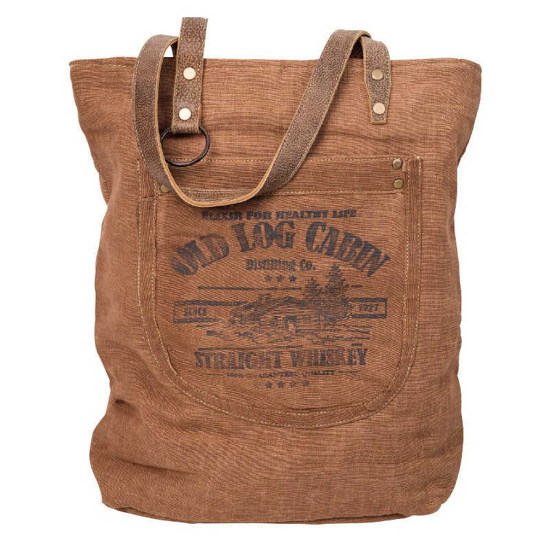 Clea Ray - Old Log Cabin Tote