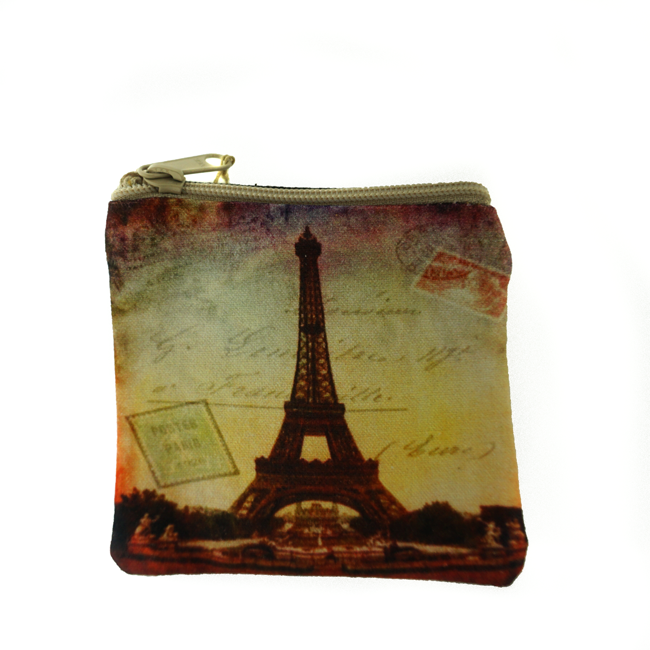 Eiffel Tower Coin Purse