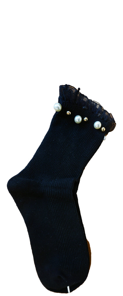 Pearl Ball Socks