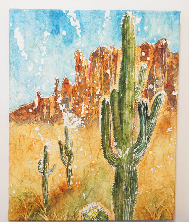 """Prickly Desert"" by Cheryl Lafon"