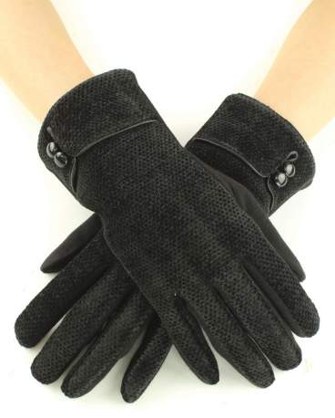 Sassy Chenille Touch Gloves