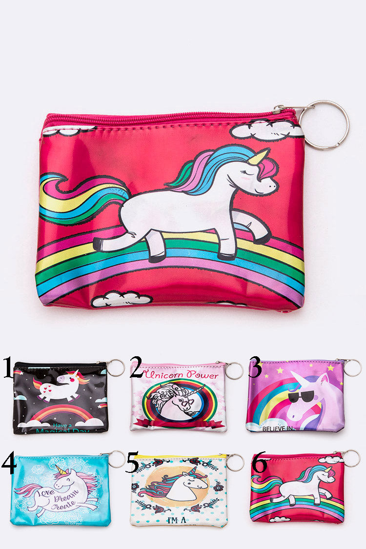 Unicorn Coin Pouch