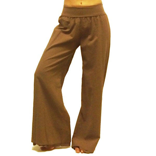 Voile Wide Leg Pants