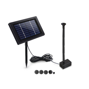 Gardeon 8W Solar Powered Water Pond Pump Outdoor Submersible Fountains