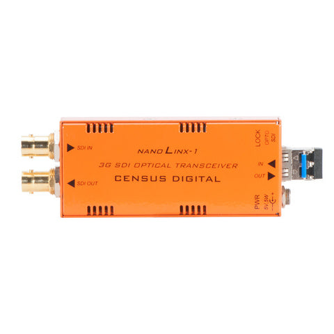 NLX-1 3G/HD/SD-SDI 2 channel Fibre Optic Transceiver - LC Version