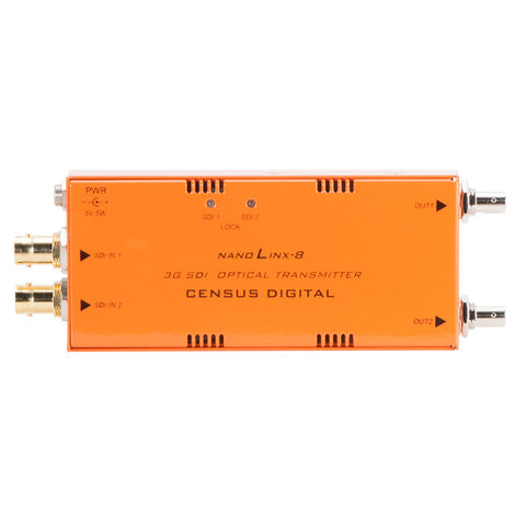 NLX-8 NLX-9 2 Channel Fibre Optic TX / RX - ST Version