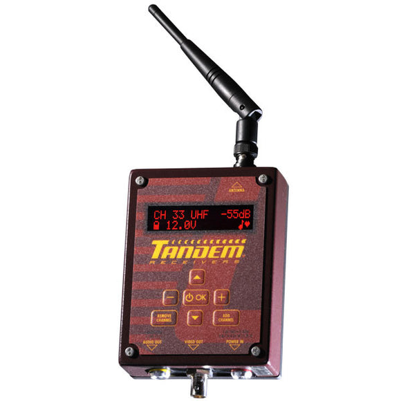 Tandem VHF/UHF Wireless Video Receiver