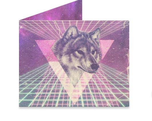 Space Wolf Mighty Wallet