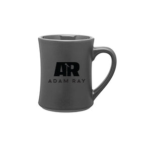 Adam Ray Gray Coffee Mugs