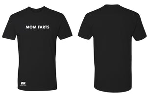 MOM FARTS - MENS TEE BLACK