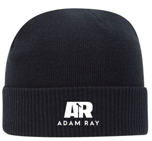 Adam Ray Mic Logo Beanie - Black
