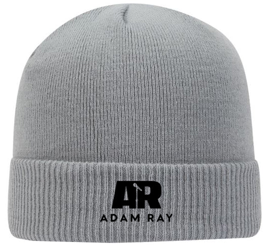 Adam Ray Mic Logo Beanie - Gray