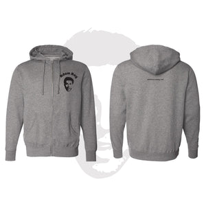 Classic Adam Ray - Zip Up Hoodie Gunmetal Heather
