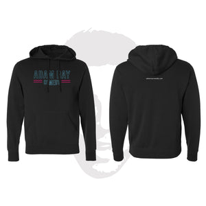 Adam Ray Neon - Pullover Hoodie Black