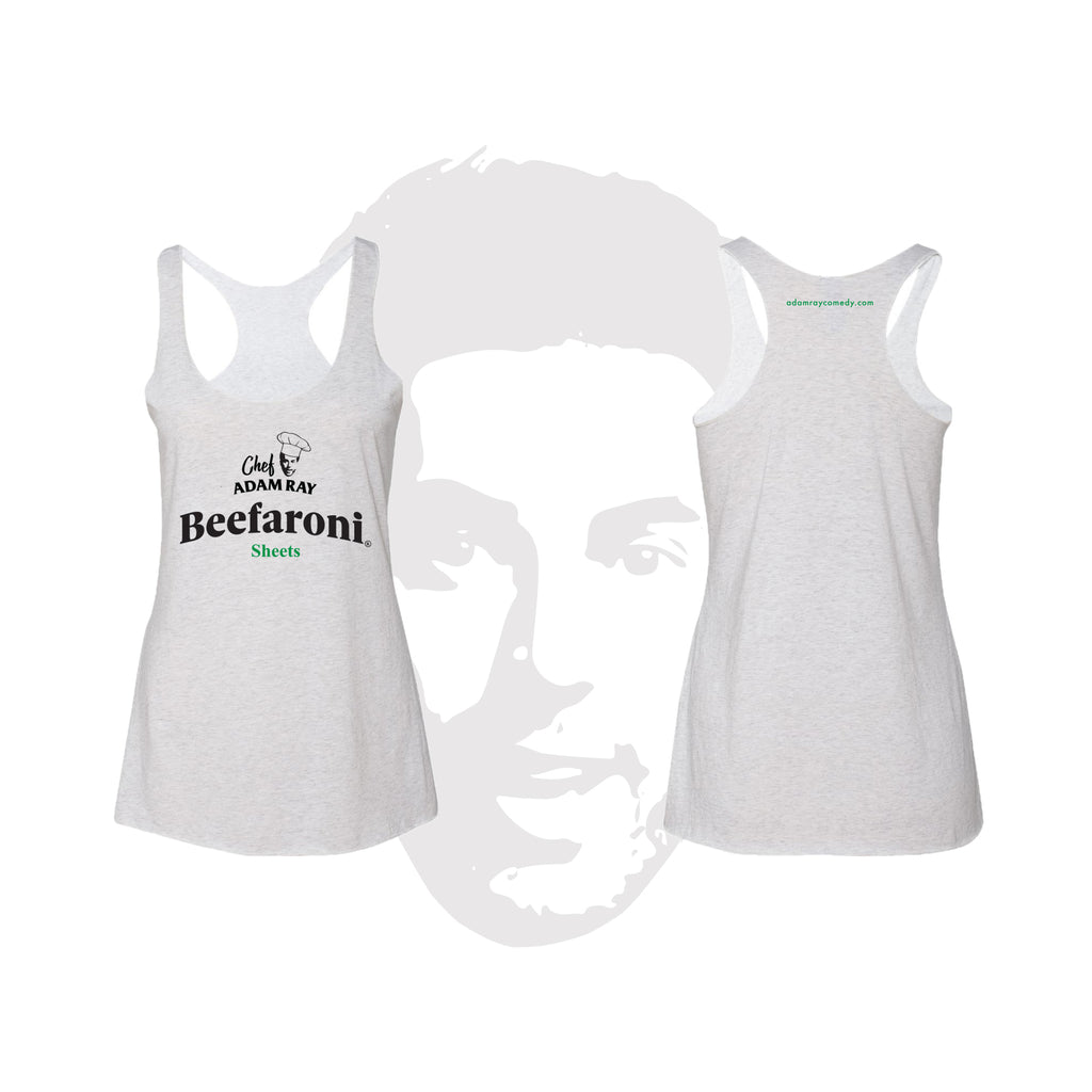 Chef Adam Ray - Womens Tank White