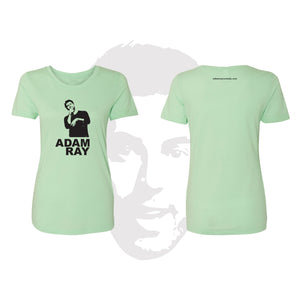 Adam Ray Silhouette - Womens Mint Tee