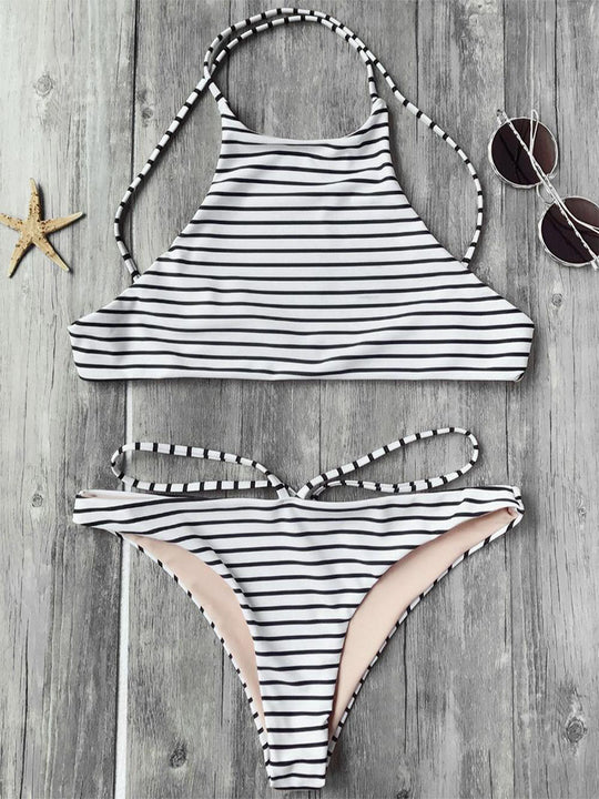 Rocky Striped Bikini