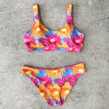 Candy Floral Push Up Bikini Set