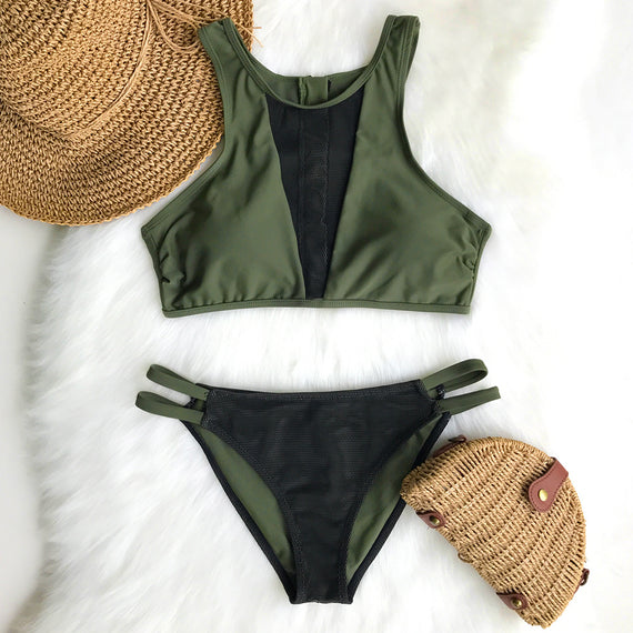 Love Freedom Mesh Bikini Set