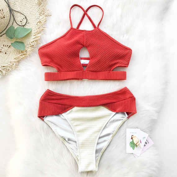 Coast Road Tank Bikini Set