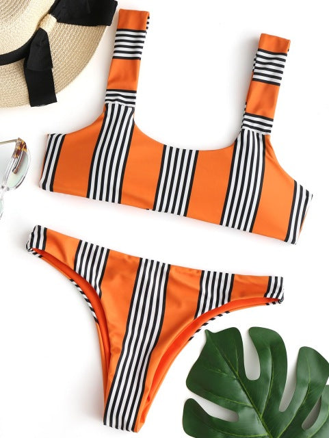 Charlie Striped Bikini
