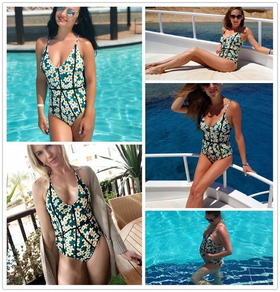 Young And Vigor Print One-Piece