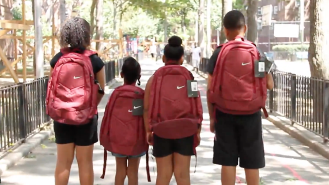 Colin Kaepernick and Nessa Donate $60K Worth of Backpacks
