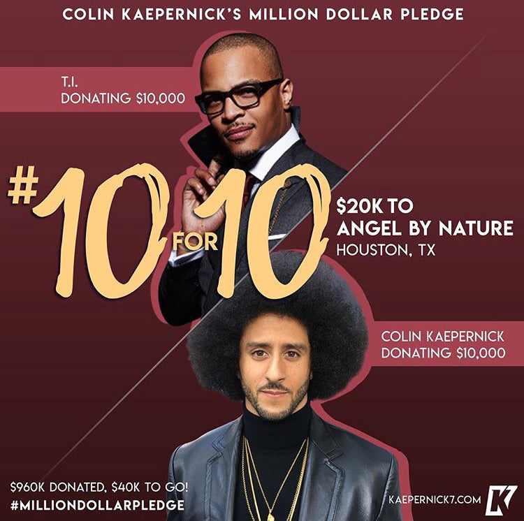 Colin Kaepernick x T.I. #10for10