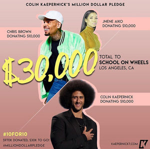 Colin Kaepernick x Jhene Aiko x Chris Brown #10for10