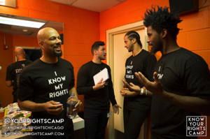 "A Look Inside Colin Kaepernick's Chicago ""Know Your Rights"" Camp"
