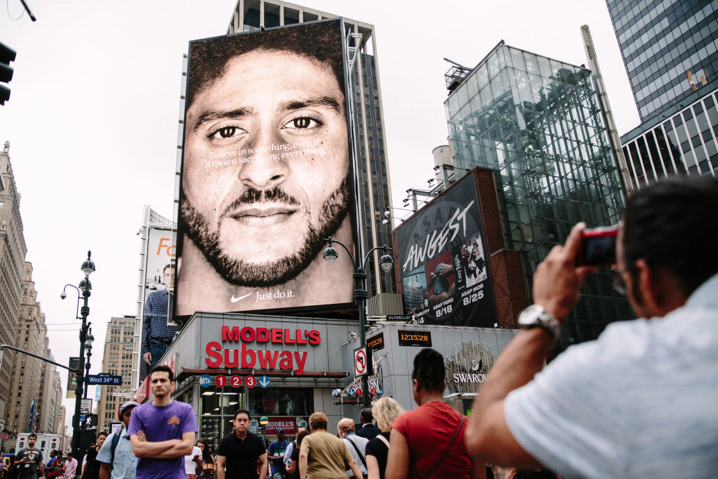 This is exactly what Nike was thinking on Colin Kaepernick ad