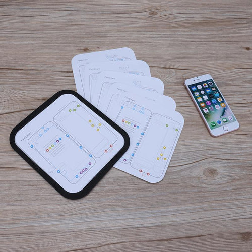 6 in 1 Magnetic Screw Mat for iPhone 6/6S/6P/6SP/7/7P with Professional Guide