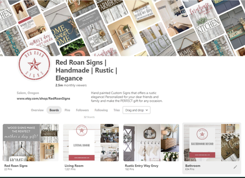 Red Roan Signs Pinterest