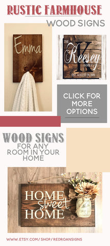 Wood Sign Gift Ideas